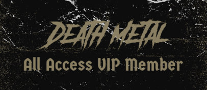 Patreon Tier Design Creator for Death Metal Bands 3867