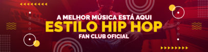 Patreon Cover Maker for a Brazilian Hip Hop Fan Club 3872e