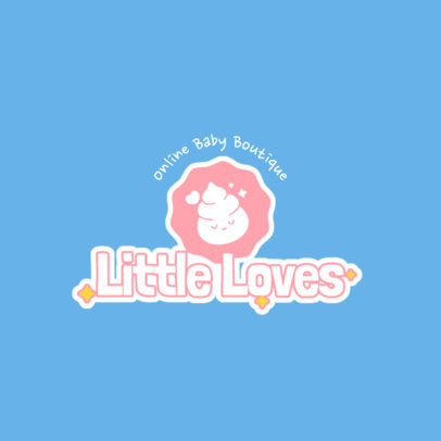 Logo Generator for an Online Baby Clothing Store 4183c-el1