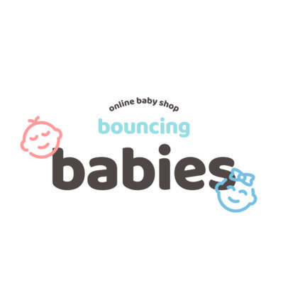 Baby Products Logo Template Featuring Cute Icons 4185e-el1