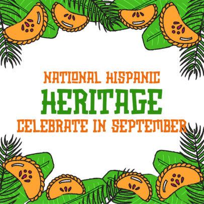 Instagram Post Creator to Celebrate Hispanic Heritage Month 3861b