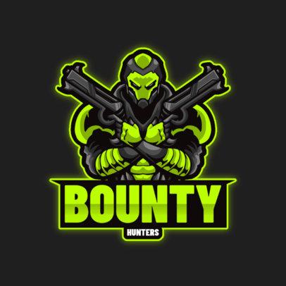 eSports Logo Creator With a Cyborg Character 4221d-el1