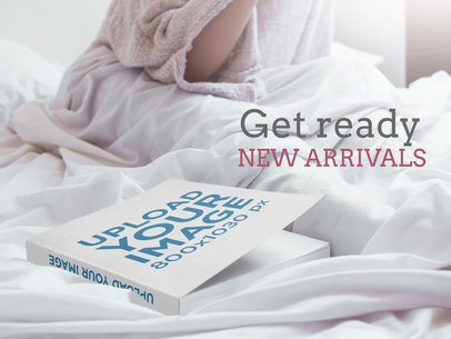 eBook Ads - Paperback Book Lying on a Bed a16572