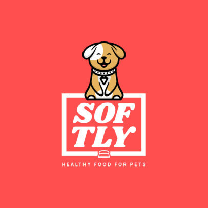 Logo Creator for a Brand of Healthy Food for Pets 4243c-el1