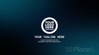 Intro Video Creator Featuring a Fingerprint Animation 3180-el1