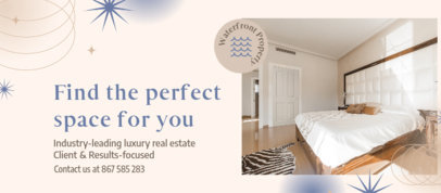 Real Estate-Themed Facebook Cover Template 3909c