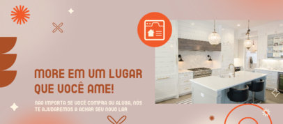 Facebook Cover Generator for a Luxury Real Estate Company 3909j