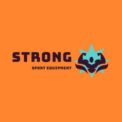 Online Logo Maker for Sports Equipment Brands 4530i