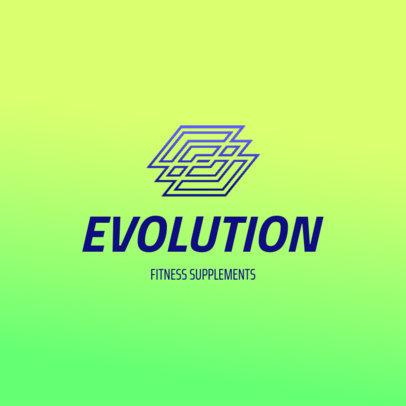 Online Logo Maker for a Fitness Supplements Store 4528e