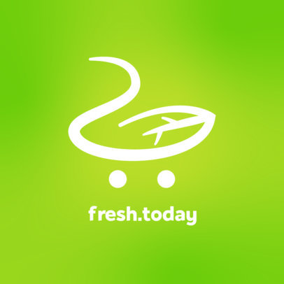 Logo Maker for a Grocery Shopping App 4541