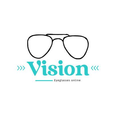 Logo Template for an Eyewear Dropshipper 4263b-el1
