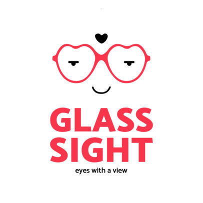 Optical Store Logo Maker Featuring a Glasses Frame Icon 4261c-el1