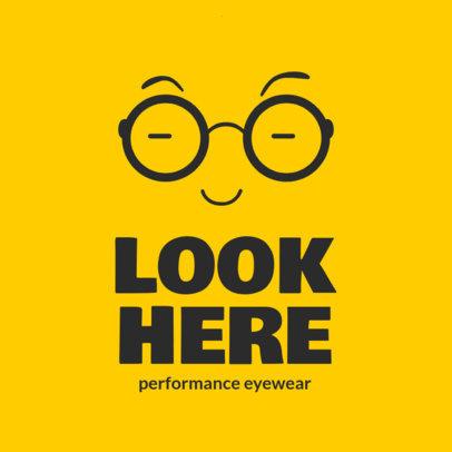 Modern Logo Maker for Optometrists 4261b-el1