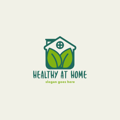 Logo Template for an Organic Food Delivery App 4542d