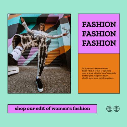 Minimalistic Instagram Post Creator for an Urban Clothing Brand 4278f-el1