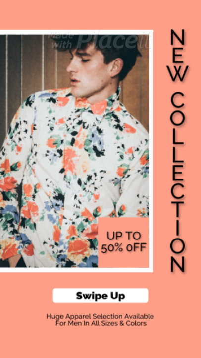 Fashion-Themed Instagram Story Video Generator to Announce a New Collection 2352a 3837-el1