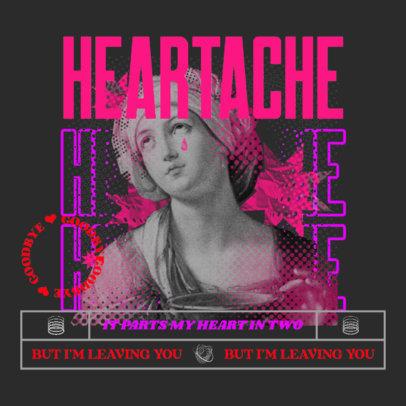 Trendy Album Cover Design Maker for Beat-Makers 4547a