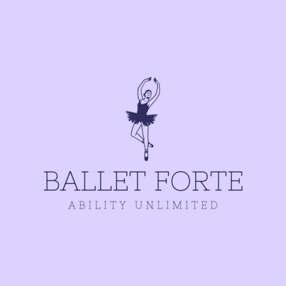 Logo Template for a Ballet-Related Company 4605f