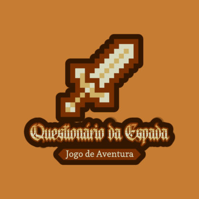 Logo Maker for a Brazilian Adventure Game with an 8-Bit Graphic 4625b