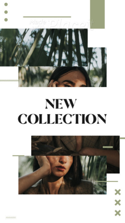 Instagram Story Video Template for a New Clothing Collection Promo 1662b 4004