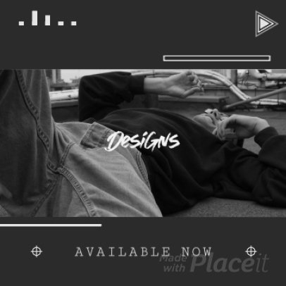 Instagram Post Video Template for a New POD Collection Ad 1534f 4048