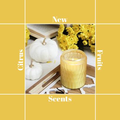Instagram Post Maker for Scented Candles Brands 4374a-el1