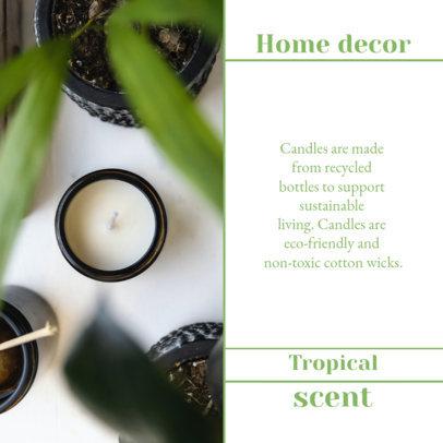 Instagram Post Generator for Handmade Candles Suppliers 4376d-el1