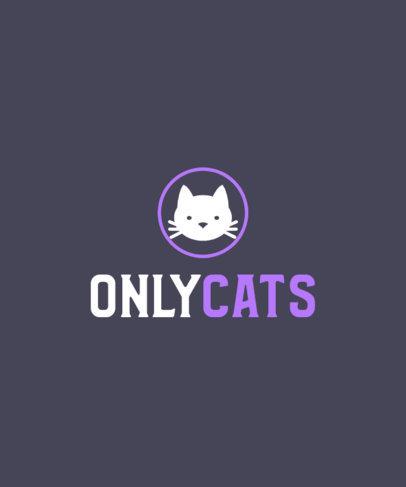 Parody T-Shirt Design Maker For an Only Cats Website 4054a
