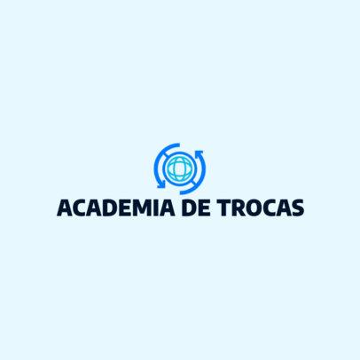 Logo Creator for a Trading Academy 4650e