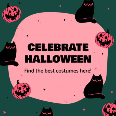 Instagram Post Creator for a Halloween Costumes Store 4080f