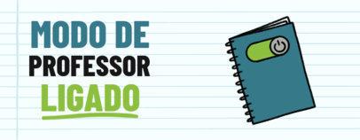 Mug Design Creator for Dia do Professor Featuring School-Themed Graphics 4109g