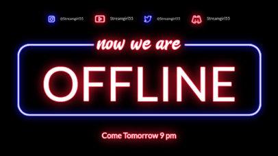 Offline Banner Maker With a Neon Aesthetic 4465-el1