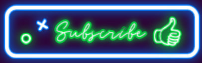 Twitch Panel Maker for Inviting to Subscribe with a Neon Theme 4470a-el1