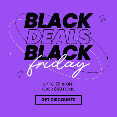 Ad Banner Creator to Promote Amazing Black Friday Deals 4131b