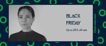 Facebook Cover Template to Announce Black Friday Deals 4133a