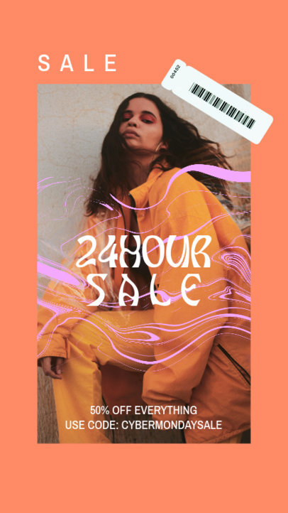 Instagram Story Creator to Announce a 24-Hour Sale During Cyber Monday 4145b