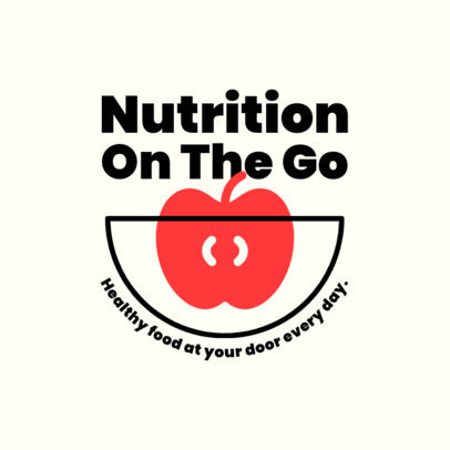 Online Logo Maker for a Nutritious Food Delivery Service 4489-el1
