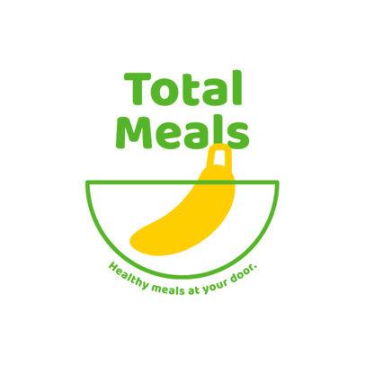 Banana-Themed Logo Maker for a Food Delivery Service 4489d-el1