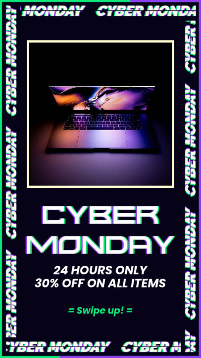 Facebook Story Creator for Cyber Monday Promos 4146f