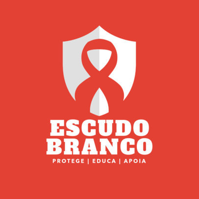 HIV Awareness Campaign Logo Template 4717d