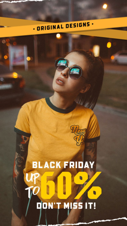 Instagram Story Maker to Announce Black Friday Clothing Deals 4538d-el1
