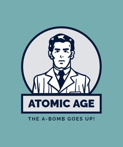 Atomic Age Design Maker for Retro Shirts 13