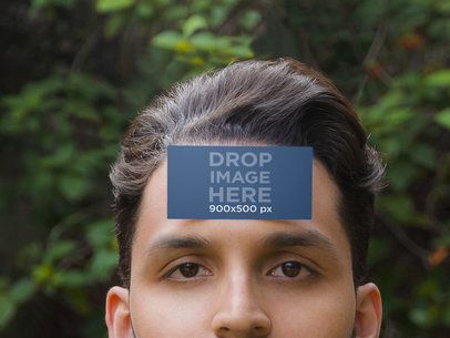 Business Card On Forehead 1112