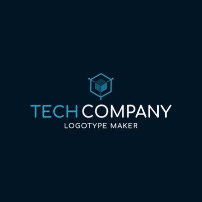 Tech Company Logo Maker with a Modern Design 1135