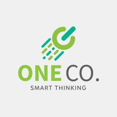 Technology Business Logo Maker a1140