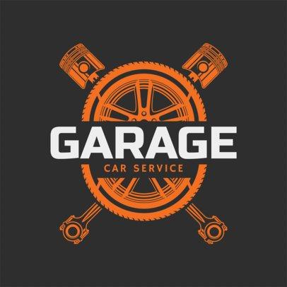 Mechanic Logo Maker a1165