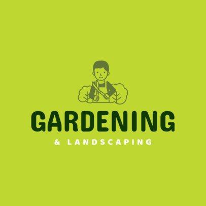 Landscaping Logo Maker a1166