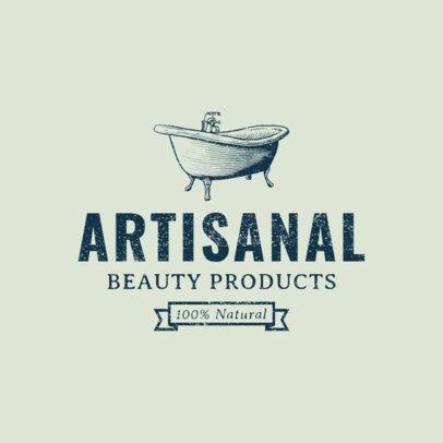 Organic Beauty Brand Logo Maker a1192