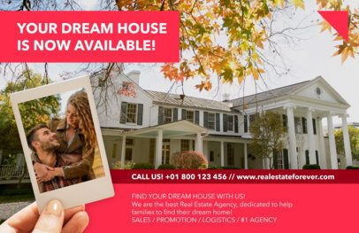 Horizontal Flyer Maker to Design Real Estate Flyers a251