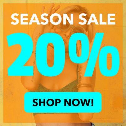 Fashion Sales Banner Maker 248